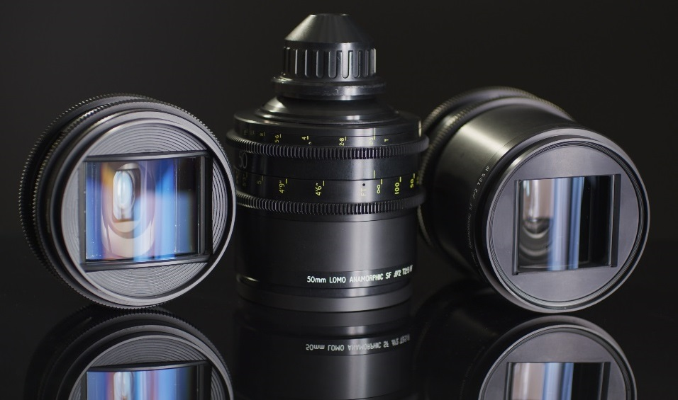 Lomo Square Front Anamorphic Lenses For Rent