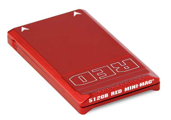 Red Minimag SSD 128, 240, 512 GB Redmag Cards for rent.