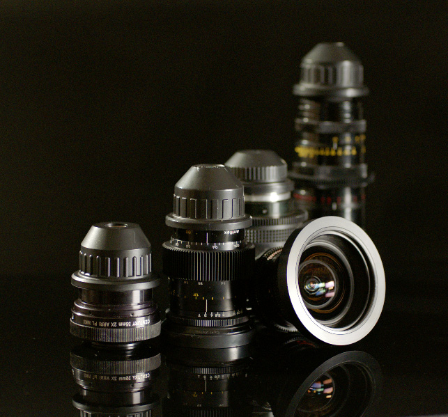 Specialty Lenses For Rent