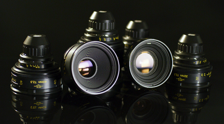 Cooke S2 / 3 TLS Rehoused Speed Panchro Lenses For Rent